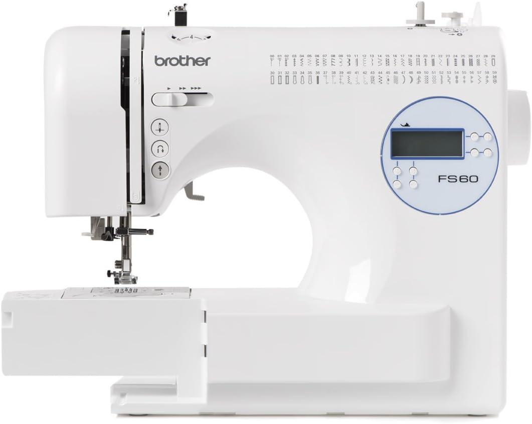 Máquina de coser Brother FS60: Amazon.es: Hogar