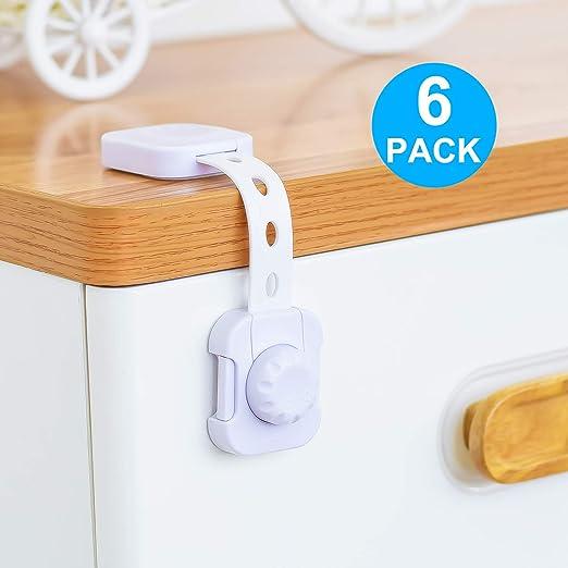 Baby Safety Locks Latches Child Proof Cabinet Fridge Toilet Seat Adjustable Lock