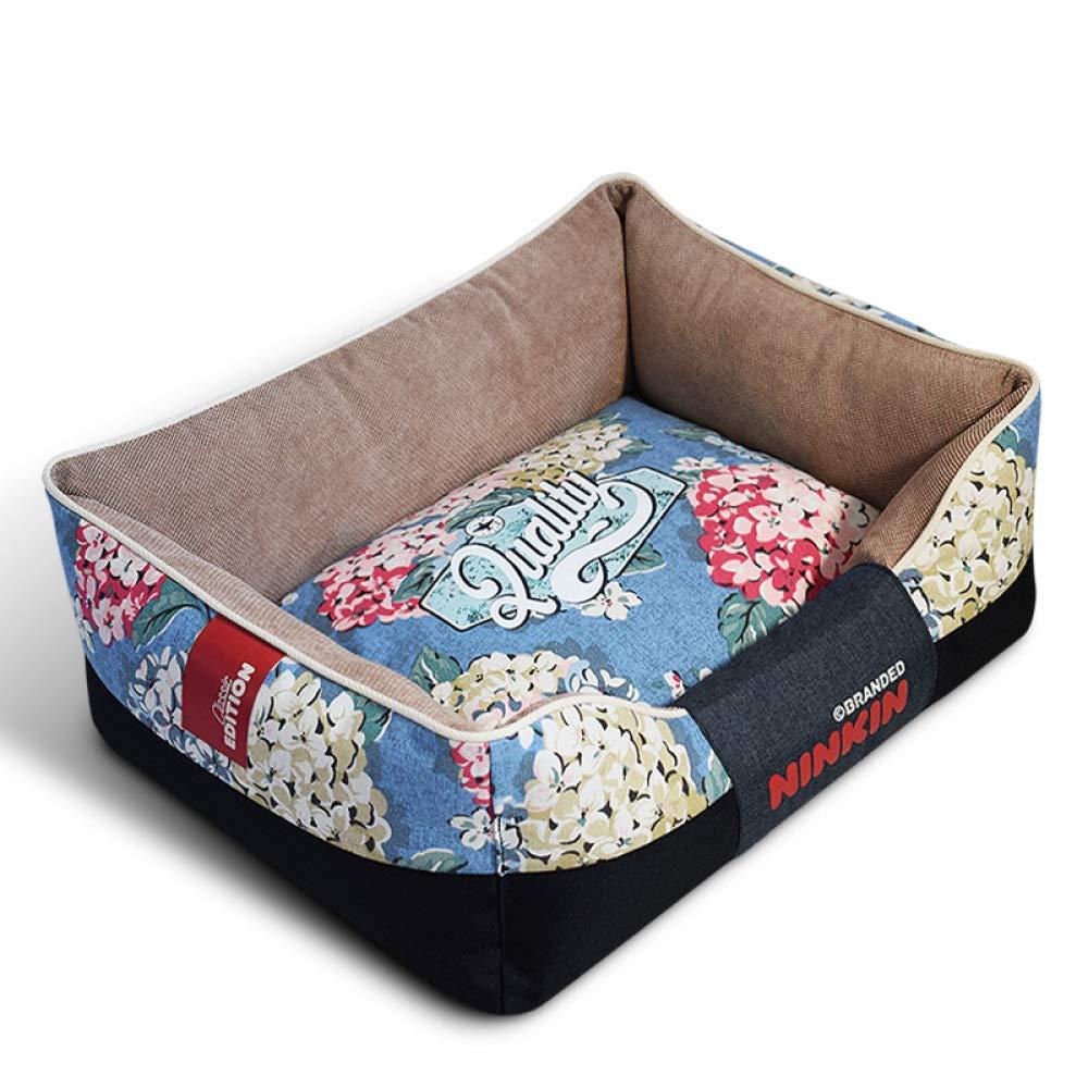 per il tuo stile di gioco ai prezzi più bassi QJKai QJKai QJKai Forniture per animali di canapa di tela di velluto tagliata quadrilatero per animali domestici  moda classica