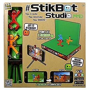 Zing Stikbot Studio Pro Toy Figure - 61HxFRwAwAL - Zing Stikbot Studio Pro Toy Figure
