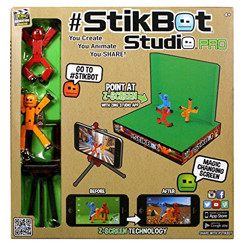 Zing Stikbot Studio Pro, 11 year old boy present ideas