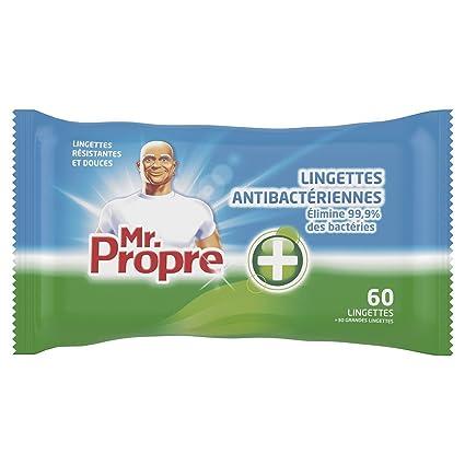 Mr Propre - Paquetes de toallitas limpiadoras antibacterianas multiusos (3 unidades, 30 toallitas por