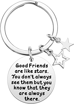 Great Present for a Friend Best Friend Gift Novelty Gift Key Ring for a Friend