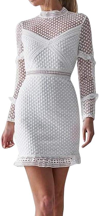 elegante tubino lungo spalline Abito donna corto vestito vestitino