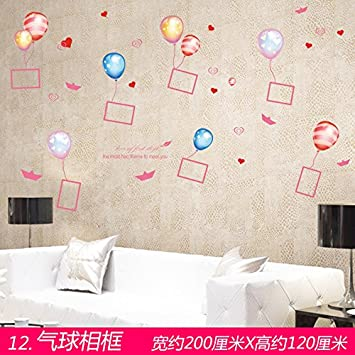 Xi W H Kreative Phoframe Phostickers Wand Schlafzimmer