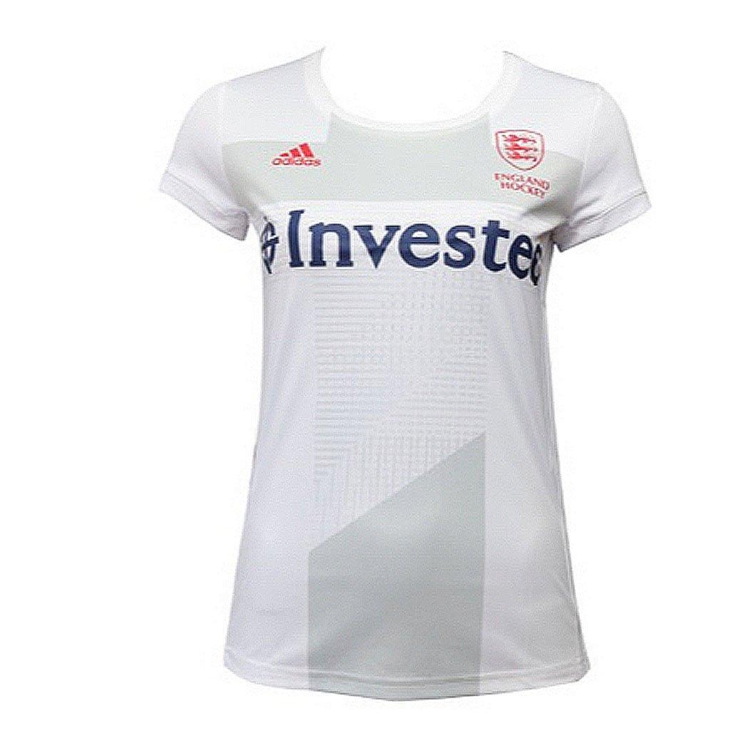 adidas EH England Hockey World Cup 2018 Women's Away Jersey Tee Shirt