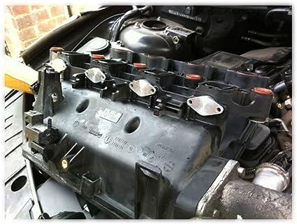 Kkmoon 4 Stk 22mm Diesel Swirl Flap Rohlinge Ersatz Stopfen Mit Intake Manifold Dichtungen Auto