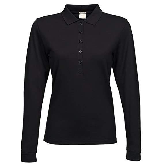 Ladies Stretch Long Sleeve PoloshirtTee Jays