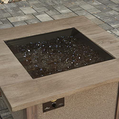 Outdoor GreatRoom Glass Fire Pit Burner Cover
