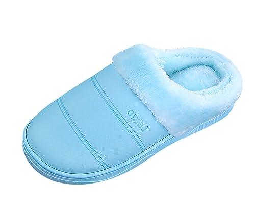 Autunno Unisex Caldo Scarpe Pantofole Peluche Insun Home Inverno zZHa8x1q
