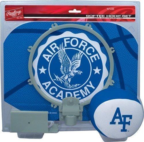 Air Force Academy Falcons Slam Dunk Indoor Basketball Hoop Softee Set