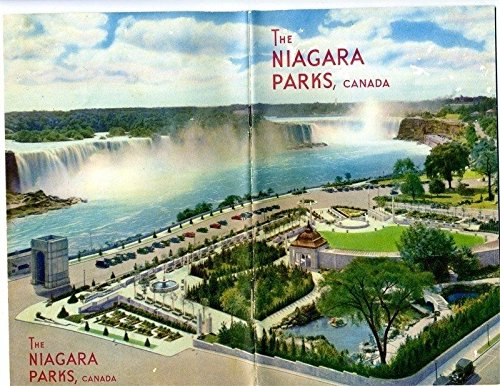 (The Niagara Parks Canada Booklet and 9 Niagara Falls Unused Linen)
