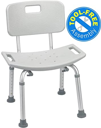 Amazon.com: Medical Tool-Free Assembly Spa Bathtub Adjustable ...