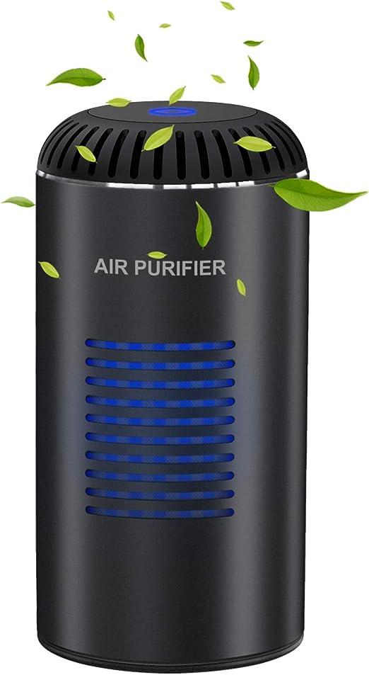 Kimfly Purificador de Aire Mini con Filtro HEPA y Filtro de Carbón ...