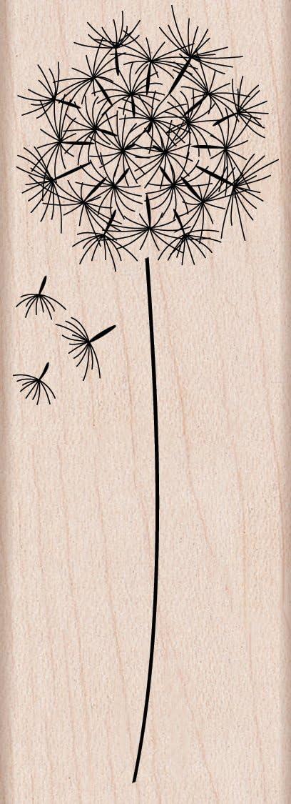 Hero Arts Woodblock Stamp, Dandelion