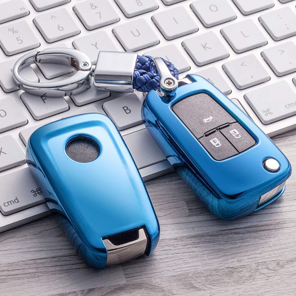 Bleu Auto cl/és Sac Housse de Protection pour Chevrolet Camaro Cruze Equinox Malibu Orlando Sonic Spark