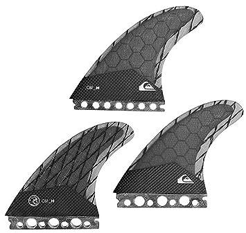 Quiksilver AG47 - Juego de aletas para tabla de surf, color negro, S: Amazon.es: Deportes y aire libre