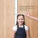 Height Chart for Kids Growth Chart Ruler Wall Decor for Measuring Kids Boys Girls, White