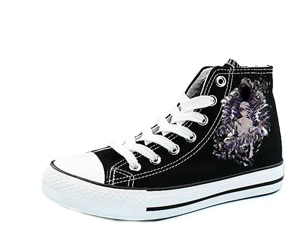 a7f5fa07e2 Bromeo Ajin Manga Unisex Canvas Hi-Top Sneaker Trainers Shoes   Amazon.co.uk  Sports   Outdoors