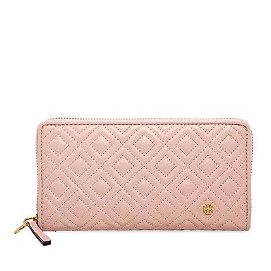16b89f76996 Amazon.com: Tory Burch Women's Fleming Zip Continental Wallet, Shell ...