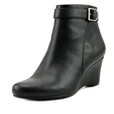 Womens Hurley Round Toe Ankle Platform Boots