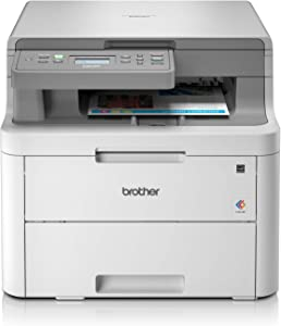 Brother DCP-L3510CDW - Impresora multifunción (Wifi, USB 2.0, 512 MB, 800 MHz, 18 ppm, 400 W) blanco