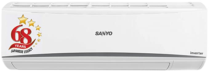 Sanyo 1 Ton 3 Star Inverter Split AC (Copper SI/SO-10T3SCIA White)