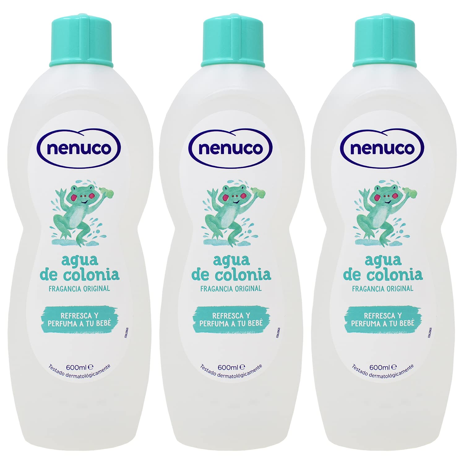 Nenuco Baby Cologne/agua De Colonia 20oz./600 ml (Pack of 3)