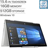 HP Envy x360 15.6 Touch Laptop i7-8550U,16GB RAM, 512GB Win 10 Home Natural Silver (Certified Refurbished)