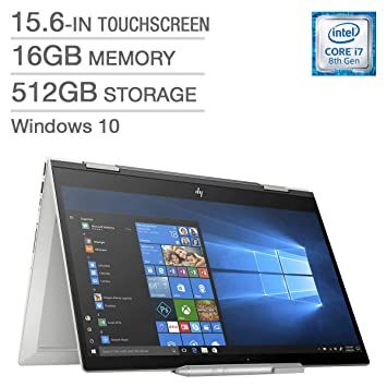 Amazon.com: HP Envy x360 15.6 Touch Laptop i7-8550U,16GB RAM ...