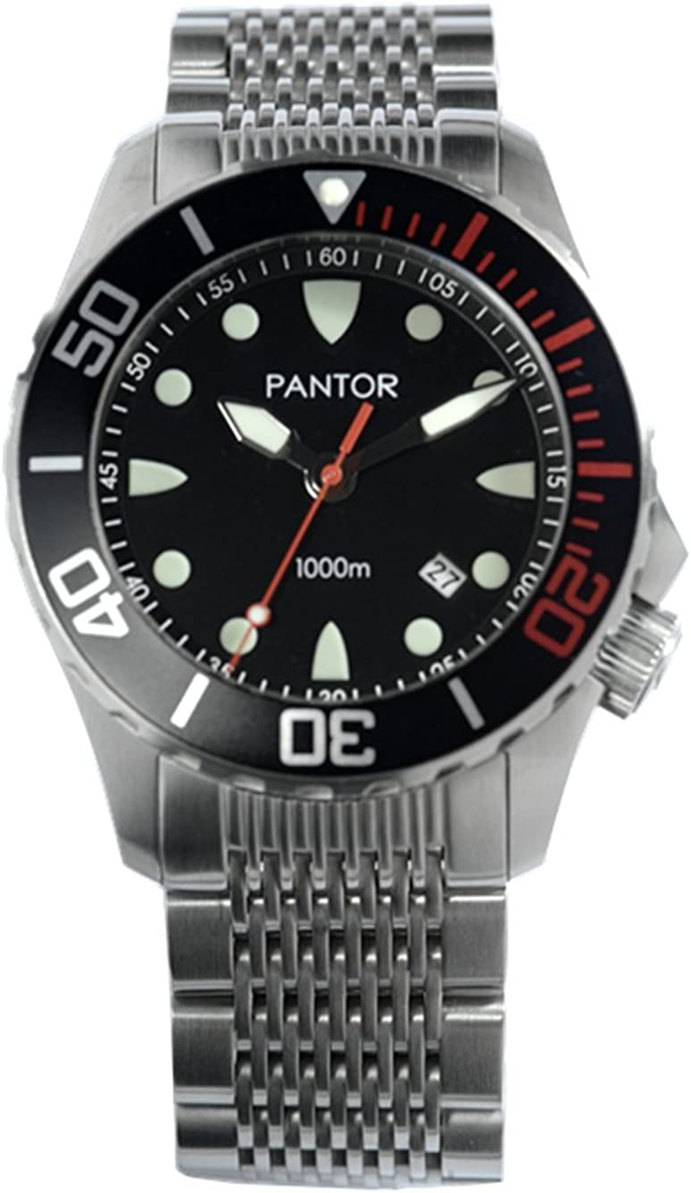 Pantor Seahorse 1000m Big Size 45mm Pro Automatic Dive Watch
