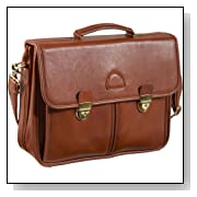 AmeriLeather World Classic Leather Executive Briefcase