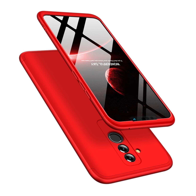 MRSTER Mate20 Lite Funda 3 en 1 Ultra Thin Hard PC Case Premium Slim 360 Grados Full Body Protective Shockproof Cover for Huawei Mate 20 Lite.