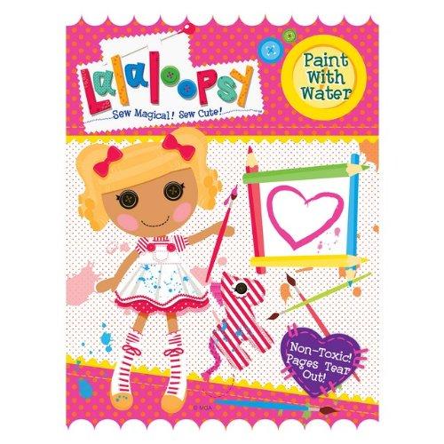 Lalaloopsy 115380 Lalaloopsy Paint With Water Book Modern Publishing