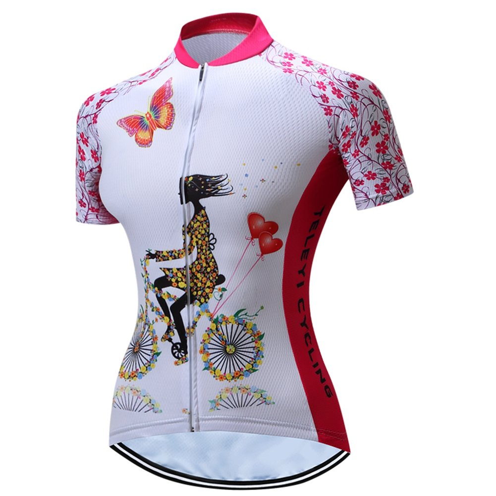 Shenshan Bike Jersey MTB T-Shirts Women Cycling Jersey Racing Top Bike  Clothing  Amazon.co.uk  Sports   Outdoors 9d2679b82