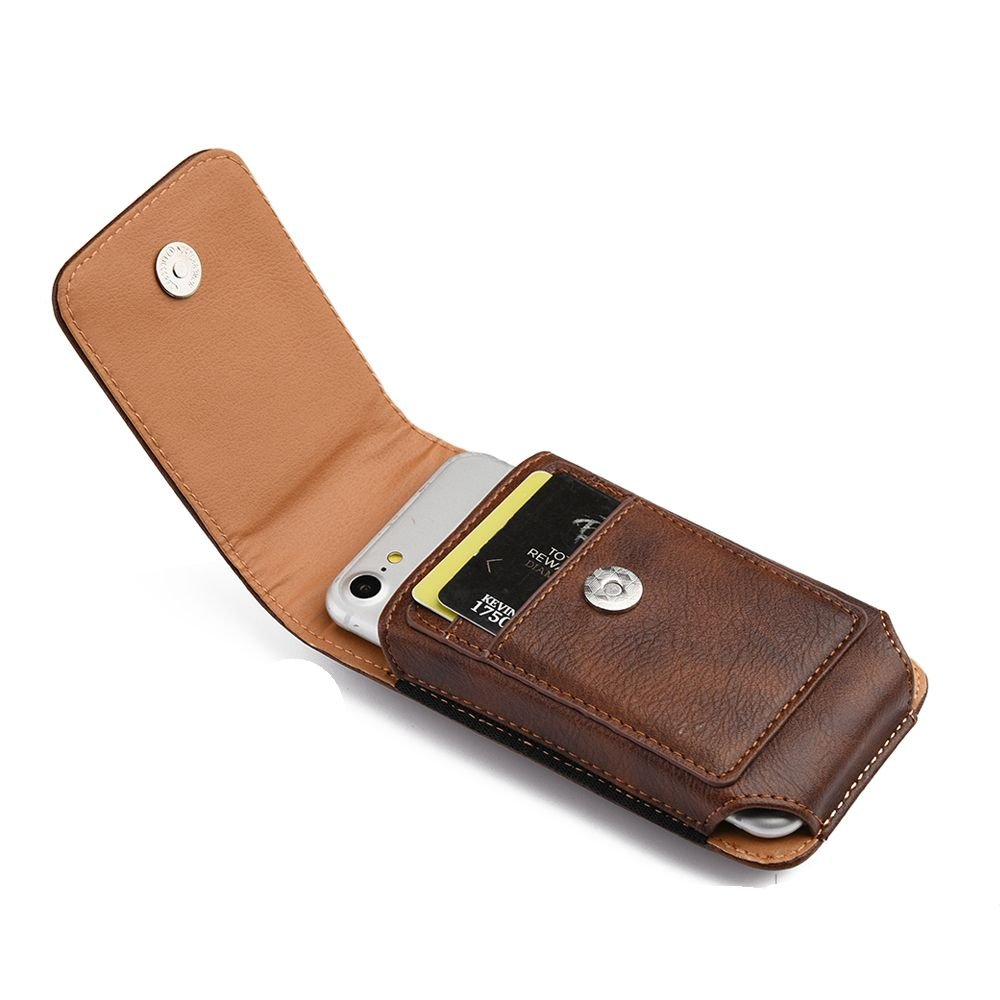 Amazon com: [World Acc] Premium PU Leather Pouch Holster Belt Clip