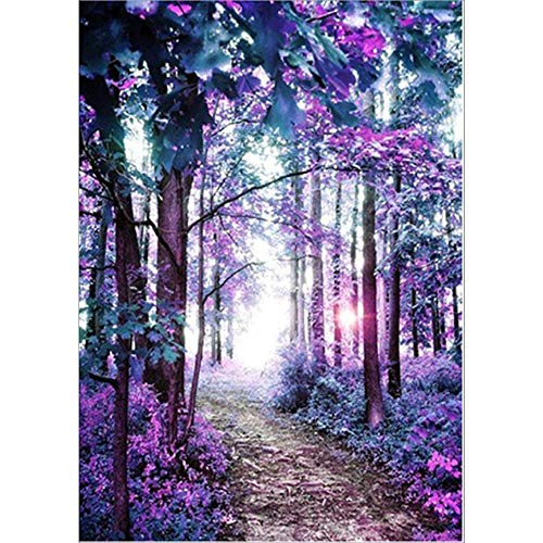 Rooms Painting Ideas (Chenway DIY 5D Diamond Painting - Color Flower Rhinestone Embroidery Painting Kits - Full Drill - for Adults Kids Living Room Wall Decor 30x40cm (C))