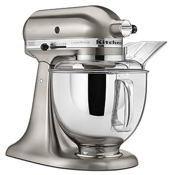 amazon com kitchenaid ksm152psnk 5 qt custom metallic series with rh amazon com