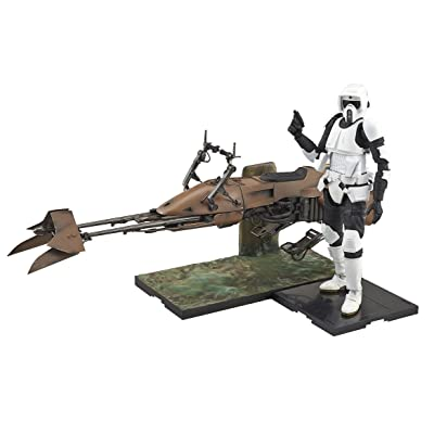 Bandai Hobby Star Wars 1/12 Scout Trooper & Speeder Bike Star Wars: Toys & Games [5Bkhe0201224]