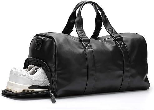Bags Clothes, Shoes \u0026 Accessories Waterproof Outdoor Handbag Unisex Travel Duffel Bag PU Leather ...