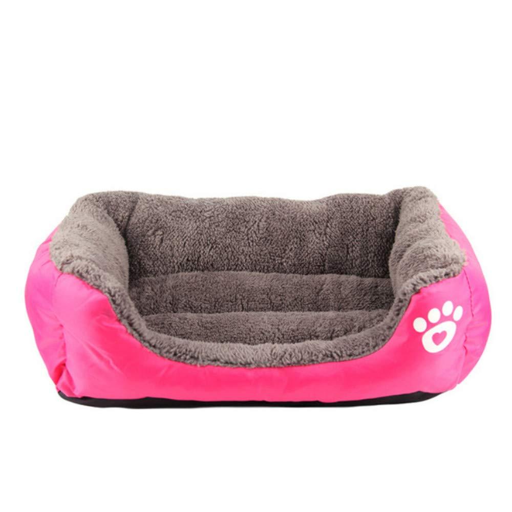 Wuwenw Lettino Per Cani Piccoli Di Taglia Media Large Dimensione 2Xl Pet Dog House Lettino Per Cuccioli Di Cotone Caldo Per   Yorkshire oroen Big Dog Bed, L, B