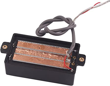 4ブレード クワッド ホットレール ハムバッカー ピックアップ エレクトリックギター