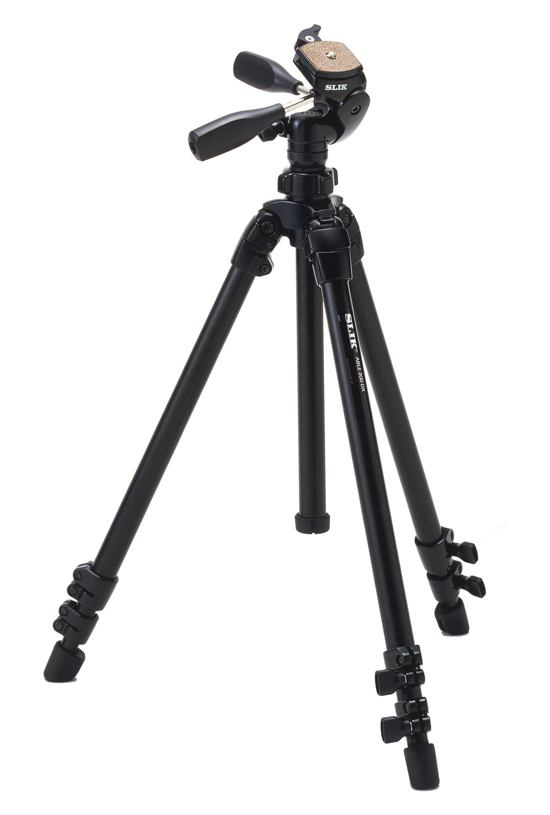 Slik Compact Professional Tripod with Ultra-Smooth 3-Way Panhead by Slik