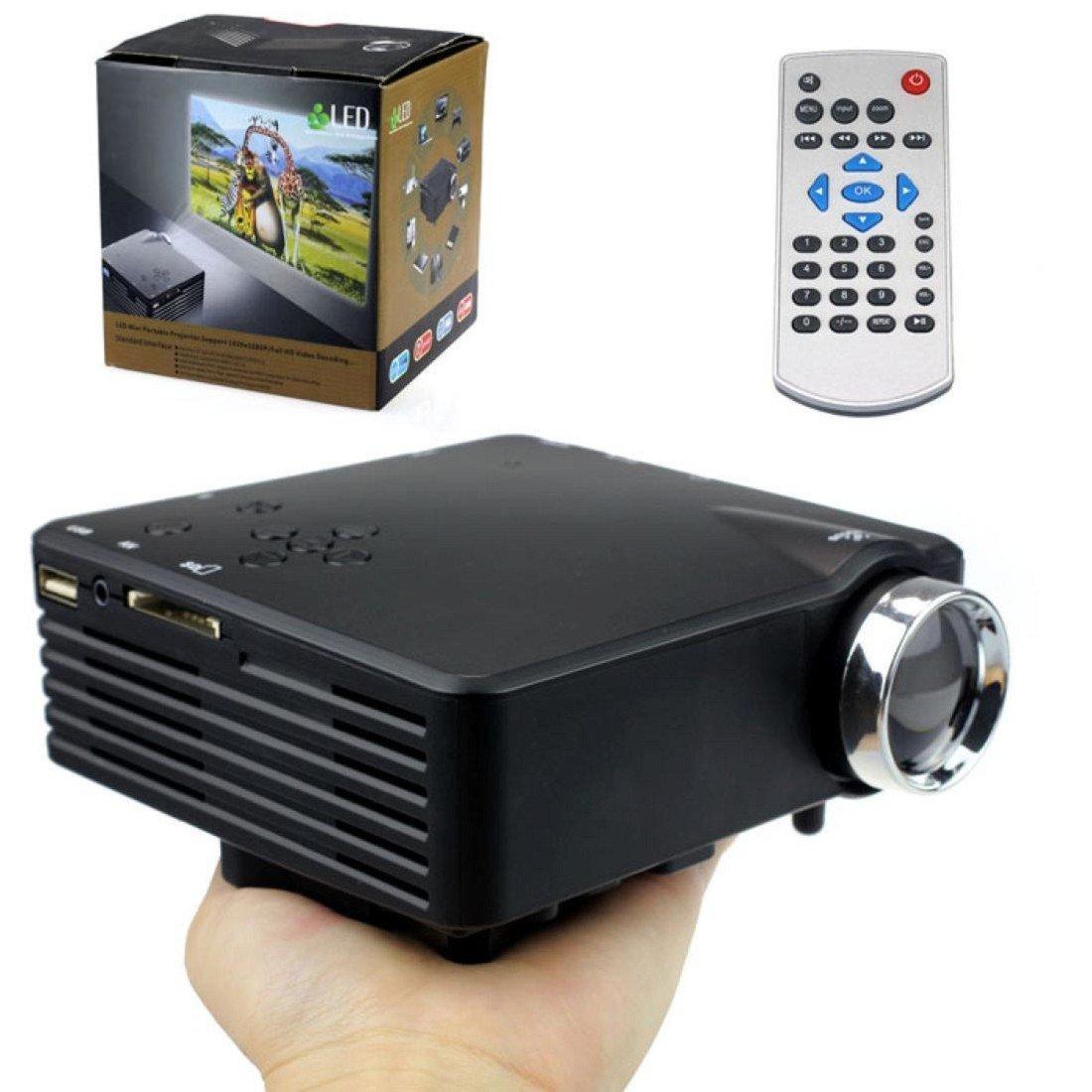 Tongshi Nueva Multimedia Portátil LED proyector de cine en casa ...
