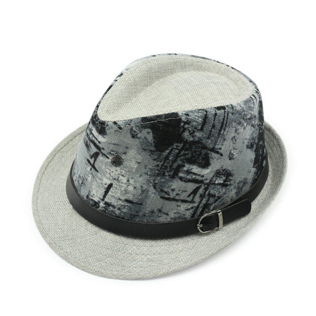 Gumstyle Summer Beach Trilby Fedora Panama Wide Brim Cap Sun Hat Vintage