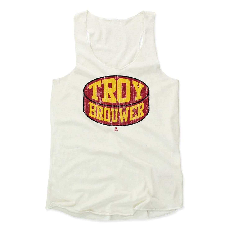 Troy Brouwer Puck R Calgary Women's Tank Top