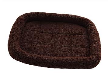 CZ-ING Cama para Mascotas para Perros y Gatos Mascota caseta de Invierno Perro Alfombra pequeña y Mediana Perro cálido Lamba Cashmere: Amazon.es: Productos ...