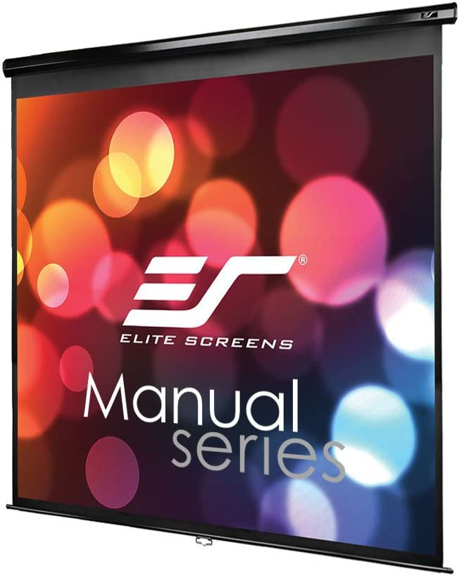 Elite Screens M120UWH2 Manual Projection Screen 120 Inch 16:9 AR