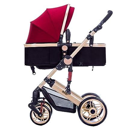 Baby Stroller Carrito de bebé Puede Sentarse o mentir el ...