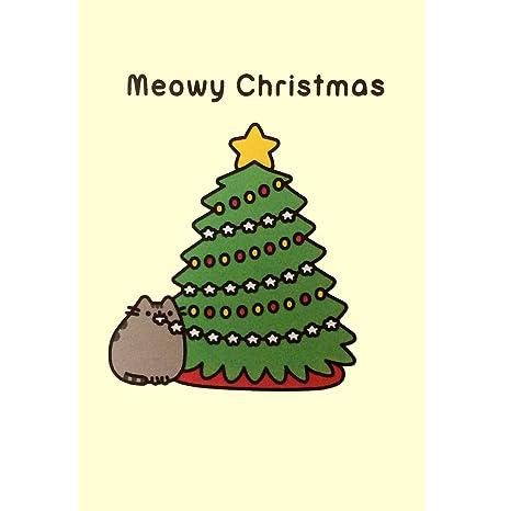 Pusheen el gato Tarjeta de Navidad cute Crazy Cat Lady ...